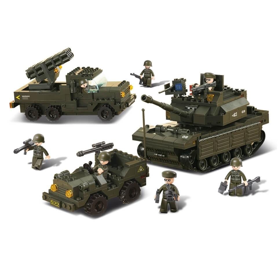 sluban armee bausteine set m38 b6800 im bundeswehr und. Black Bedroom Furniture Sets. Home Design Ideas