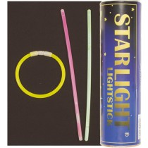 Leuchtstab Sortierte Farben Lang 20 cm 60-Set