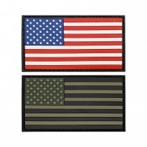3-D Rubber Patch Flagge USA