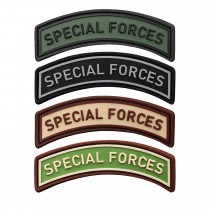 3-D Rubber Patch Special Forces Tab (Sale)