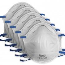 5er Pack Atemschutzmaske FFP2 EN149:2001 Mundschutz