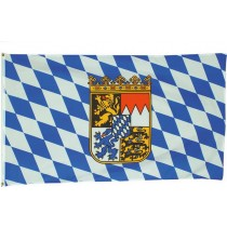 Flagge / Fahne 90x150 cm Bayern m. Wappen