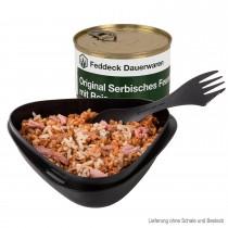 Fertiggericht Dose Orig. Serbisches Feuerfleisch mit Reis