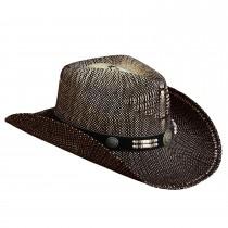Strohhut mit Hutband Texas