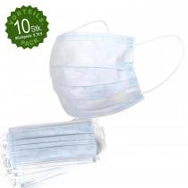 Mundschutz 3-lagig 10er-Pack
