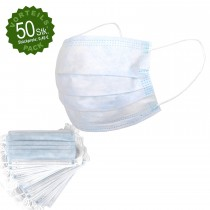 Mundschutz 3-lagig 50er-Pack (Sale)