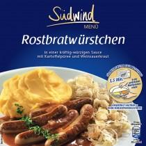 Fertiggericht Rostbratwurst mit Kartoffelpüree (Sale)