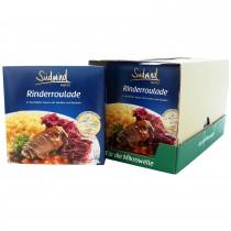 7er Pack Fertiggericht Rinderroulade mit Nudeln und Rotkohl (Sale)