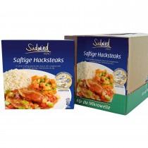 7er Pack Fertiggericht Hacksteak mit Reis (Sale)
