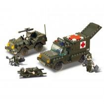 Rettungswagen Bausteine Set M38-B6000