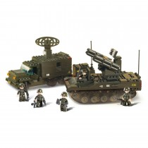 Raketenwerfer Bausteine Set M38-B6700