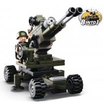 Artillerie Bausteine Set M38-B0587E