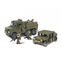 Truppentransporter Bausteine Set M38-B0306