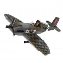 WWII Supermarine Spitfire Bausteine Set M38-70071