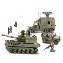 Elite Panzerdivision Bausteine Set M38-B0308