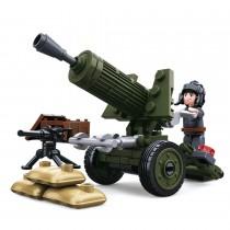 4in1 Artillerie Modell WWII Bausteine Set M38-B0678A