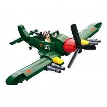 Alliiertes Kampfflugzeug WWII Bausteine Set M38-B0683