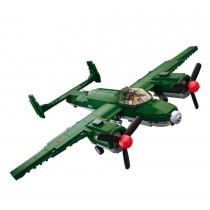 Alliierter Bomber WWII Bausteine Set M38-B0688