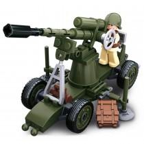 Alliierte Flak WWII Bausteine Set M38-B0678C