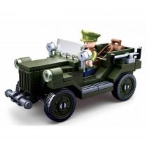 Alliierter leichter LKW WWII Bausteine Set M38-B0682