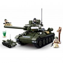 Alliierter Panzerjäger WWII Bausteine Set M38-B0689