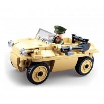 Amphibienfahrzeug WWII Bausteine Set M38-B0690